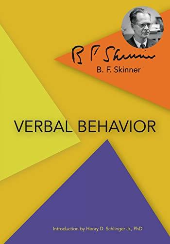 9781626540132: Verbal Behavior