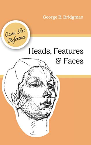 9781626544970: Heads, Features and Faces (Dover Anatomy for Artists)