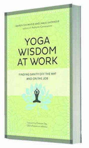 9781626561144: Yoga Wisdom at Work