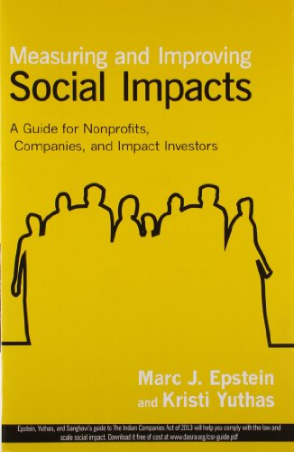 9781626562745: Measuring and Improving Social Impacts