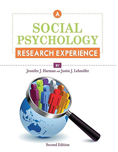 9781626619128: Social Psychology Research Experience