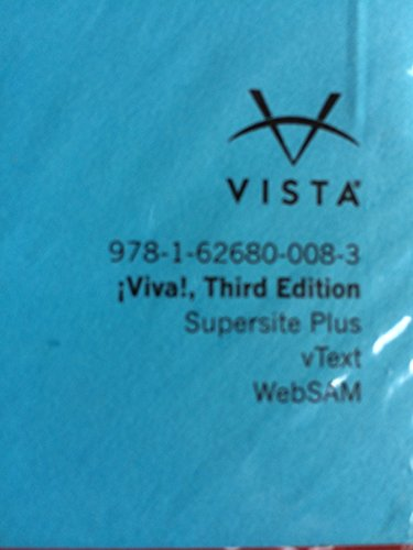 9781626800083: Viva 3rd Edition, Supersite Plus w/ WebSAM Code - CODE ONLY