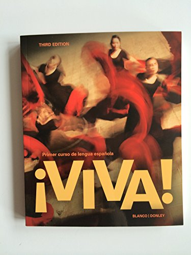 Viva!, 3rd Edition, Student Edition with Supersite Code and Student Activities Manual Bundle