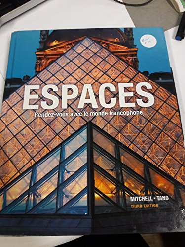 9781626800335: ESPACES -TEXT ONLY