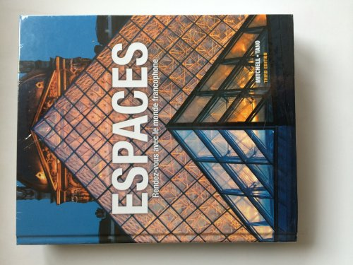 9781626800564: Espaces, 3rd Edition, Student Edition with Supersite Code and Student Activities Manual - Bundle