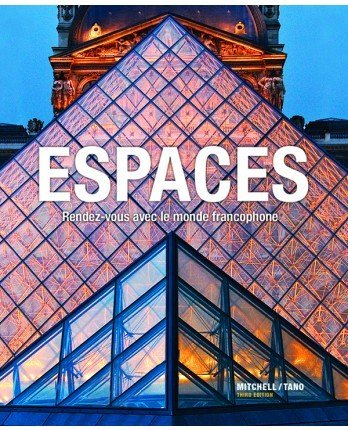 9781626800601: Espaces 3rd Student Edition w/ Supersite & WebSAM Access Code