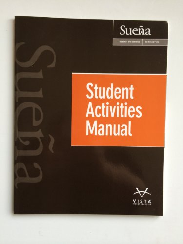 Sueña, 3rd Edition, Student Activities Manual
