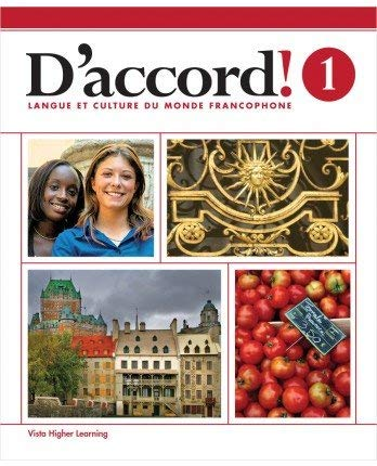 D'accord! 2015 Level 1 Student Edition with Supersite and vText Access