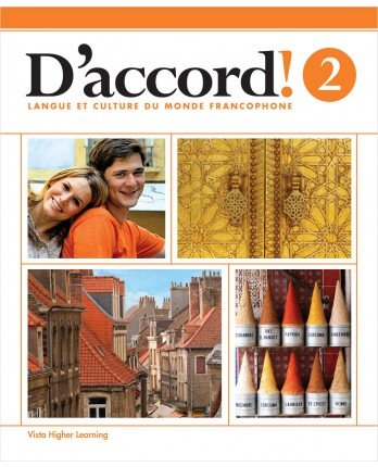9781626802735: D'accord! ©2015 Level 2 Student Edition w/ Supersite and eCahier Access