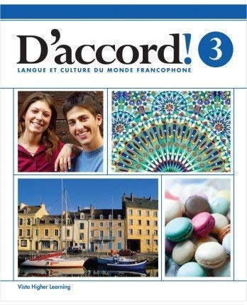 9781626802889: D'accord! ©2015 Level 3 Student Edition with Supersite and vText Access