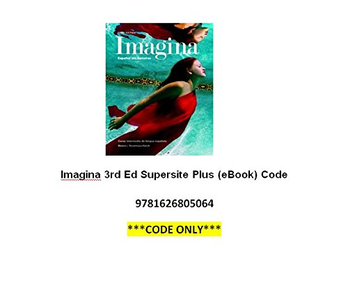 9781626805064: Imagina 3rd Ed Supersite Plus (eBook) Code **CODE ONLY**