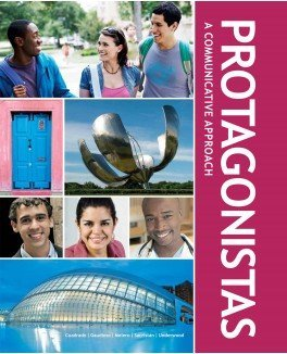 9781626806252: Protagonistas Student Edition, Supersite Plus Code (Supersite, vText and WebSAM) and Student Activities Manual