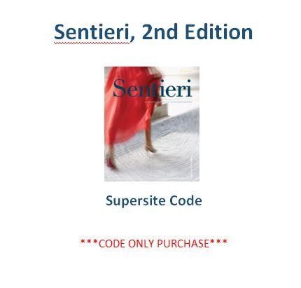 9781626807723: Sentieri 2nd Ed Supersite Code **CODE ONLY**
