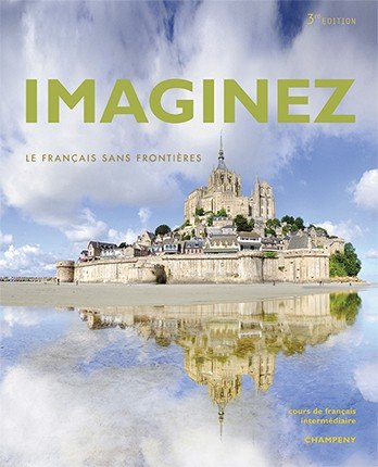 9781626808461: Imaginez 3rd Ed Student Edition with Supersite Plus Code (Supersite and vText) and Student Activities Manual