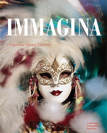9781626809048: Immagina, 2nd Ed, Student Edition with Supersite Plus(vText) Code