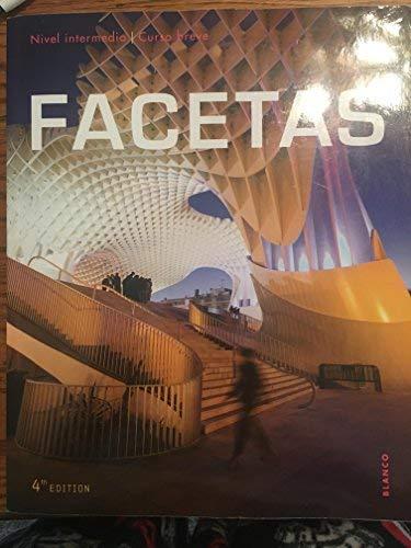 9781626809628: Facetas 4e Student Edition