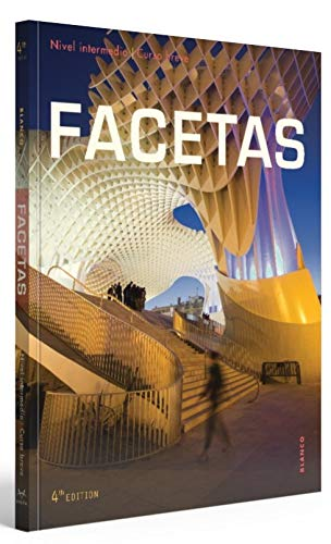 9781626809826: Facetas, 4th Ed, Student Edition with Supersite, vText and WebSAM Code