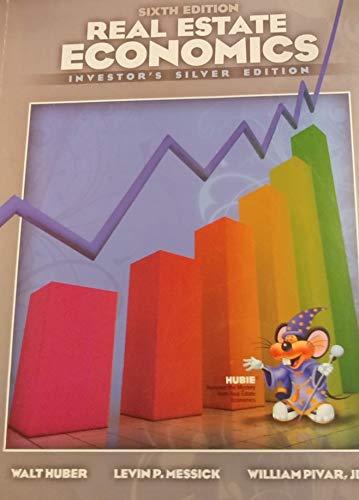 9781626843264: Real Estate Economics