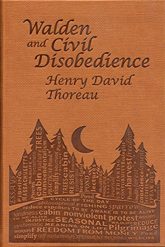 9781626860636: Walden and Civil Disobedience (Word Cloud Classics)