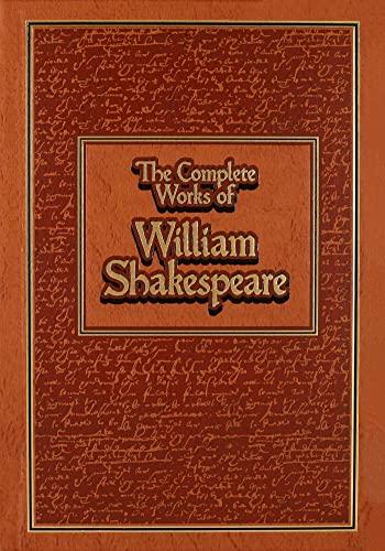 Complete Works of William Shakespeare (Leather-Bound Classics): William Shakespeare