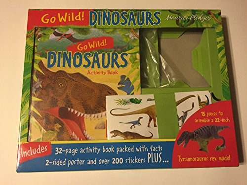 9781626861008: go wild dinosaurs: discover the amazing world of dinosaurs with this fun activity box