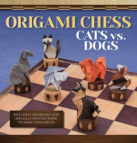 9781626861718: Origami Chess: Cats vs. Dogs (Origami Books)