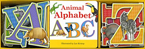 9781626861916: Animal Alphabet Book & Learning Play Set