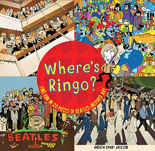 Wheres Ringo?: Find Him in 20 Pieces: Jackson, Andrew Grant