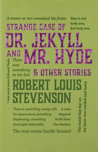 9781626862555: Strange Case of Dr. Jekyll and Mr. Hyde & Other Stories (Word Cloud Classics)