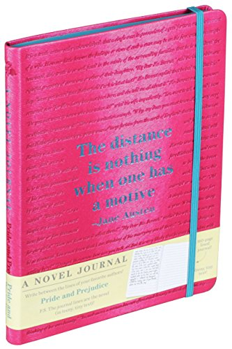 A Novel Journal: Pride and Prejudice (Novel: Jane Austen