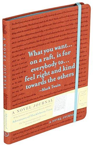 9781626863392: A Novel Journal: Adventures of Huckleberry Finn