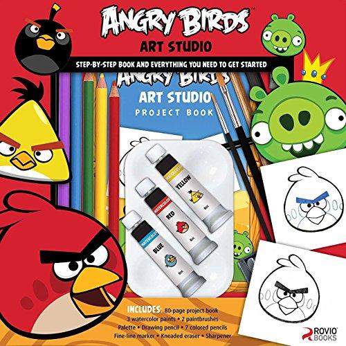 9781626863460: Angry Birds Art Studio