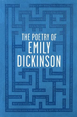 9781626863897: The Poetry of Emily Dickinson (Word Cloud Classics)