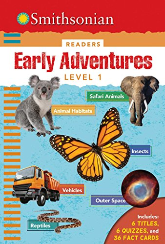 Smithsonian Readers: Early Adventures Level 1 (Hardback or Cased Book)