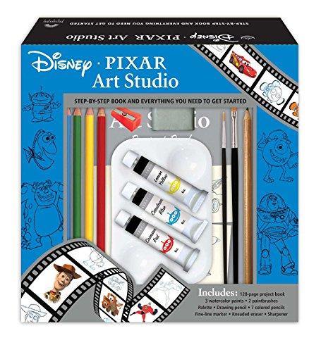 Disney-Pixar Art Studio (Hardcover): The Disney Storybook Artists