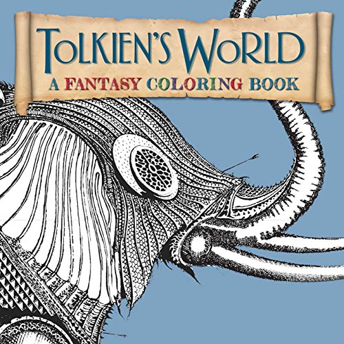 9781626865556: Tolkien's World: A Fantasy Coloring Book