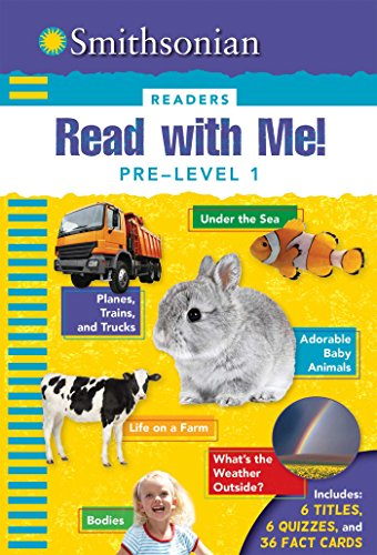 9781626865716: Smithsonian Readers: Read with Me! Pre-Level 1