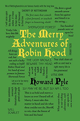 9781626866089: The Merry Adventures of Robin Hood (Word Cloud Classics)