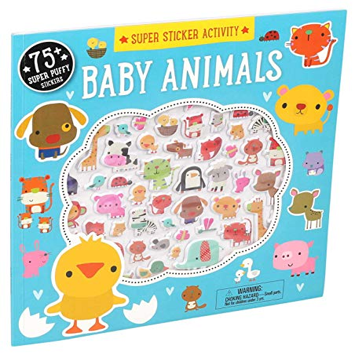 Super Sticker Activity: Baby Animals (Paperback)