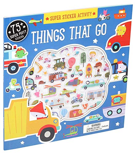 Super Sticker Activity: Things That Go (Paperback)