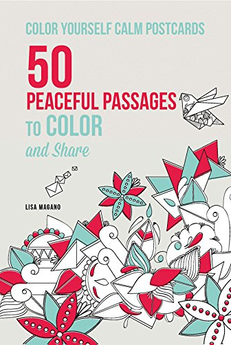 9781626866621: Color Yourself Calm Postcards: 50 Peaceful Passages to Color and Share