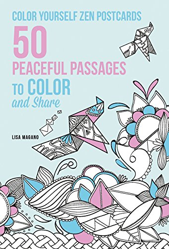 9781626866638: Color Yourself Zen Postcards: 50 Tranquil Passages to Color and Share