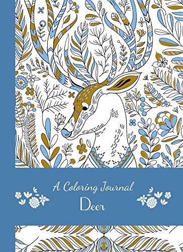 9781626868663: A Coloring Journal Deer