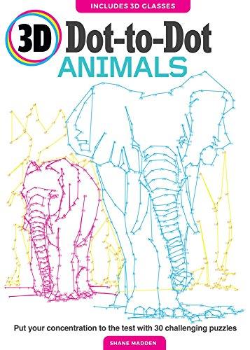 3D Dot to Dot Animals: Thunder Bay Press