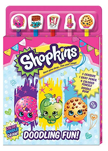 9781626868847: Shopkins: Doodling Fun (Pencil Toppers)