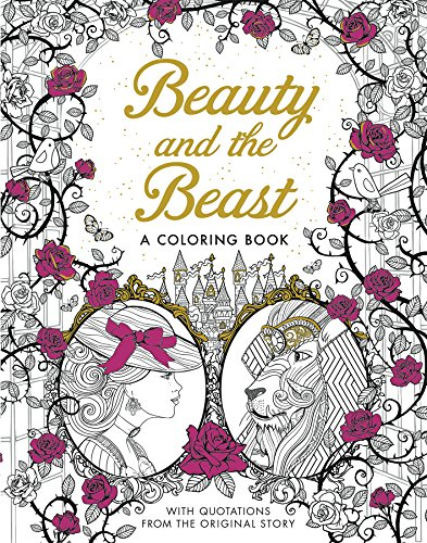 9781626868854: Beauty and the Beast: A Coloring Book (Classic Coloring Book)
