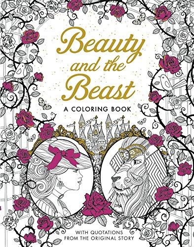Beauty and the Beast: A Coloring Book: Barbot de Villeneuve,