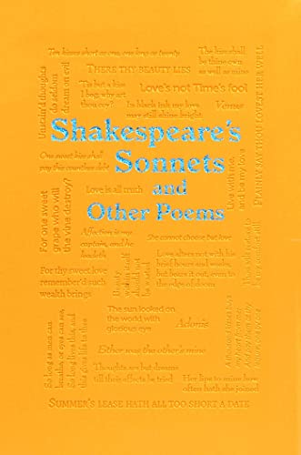 9781626869714: Shakespeare's Sonnets and Other Poems (Word Cloud Classics)