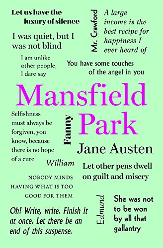 9781626869738: Mansfield Park (Word Cloud Classics)
