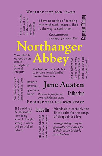 9781626869745: Northanger Abbey (Word Cloud Classics)